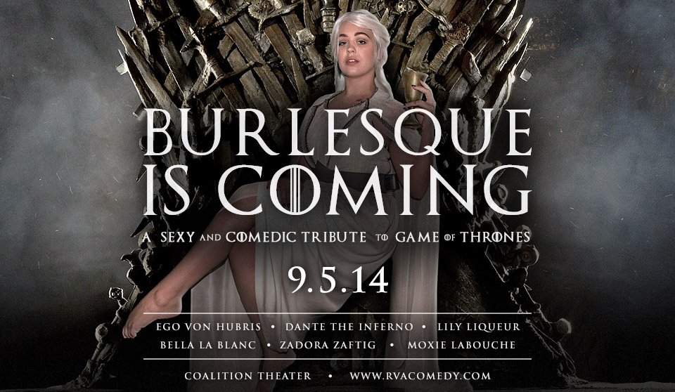Burlesque is Coming