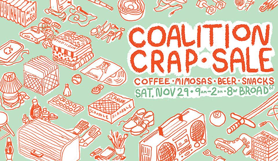 Coalition Crap Sale - Coalition Theater