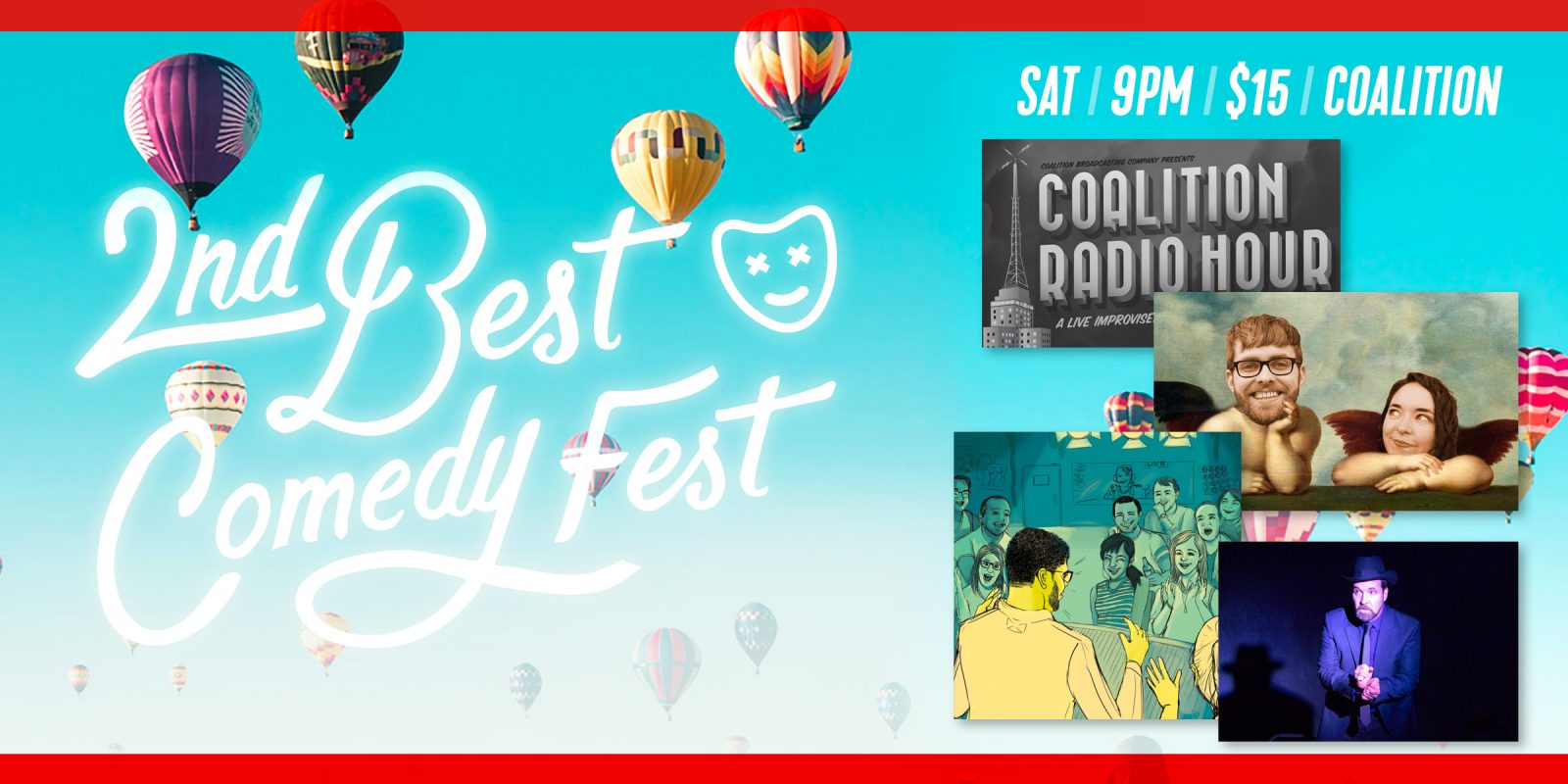 2nd Best Fest / Saturday / 9pm / Coalition Theater | Coalition Theater